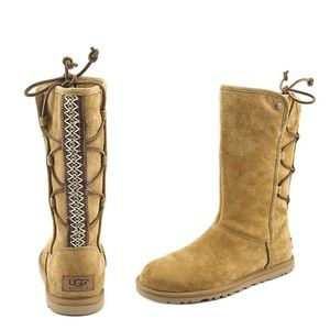 {UGG Australia} Lo Pro Lace Up Mid Calf Boot